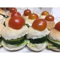 Tapaditos Vegetarianos x25