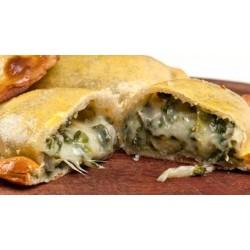 Empanaditas fritas de Espinaca queso 11cms x25