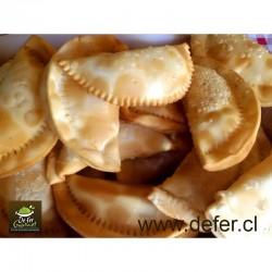 Empanaditas de queso 11cms x25