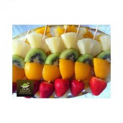 Brochetas de Fruta x20