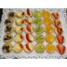 Mini tartaletas de frutas x25